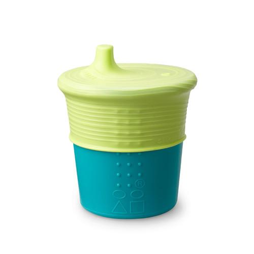 Vaso de Silicona con Tapa Estrechable Siliskin® Sippy Cup 8oz