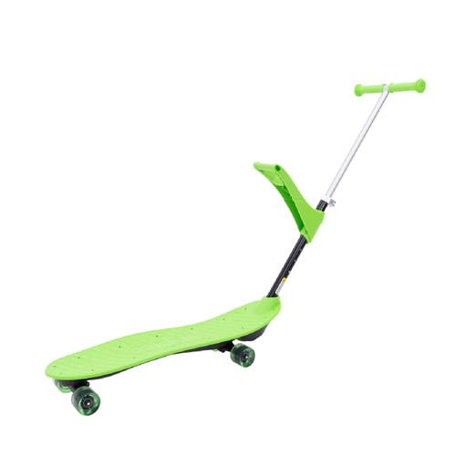 Patineta Skateboard de aprendizaje 4 en 1 OOKKIE PRO Verde