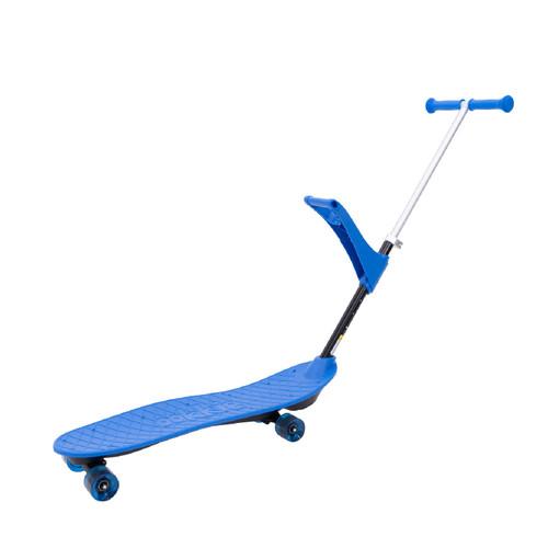 Patineta Skateboard de aprendizaje 4 en 1 OOKKIE PRO Azul
