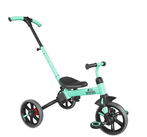 Bicicleta de Balance Triciclo Y Velo Flippa 3 en 1 -Verde