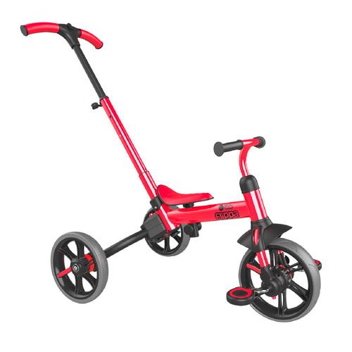 Bicicleta de Balance Triciclo Y Velo Flippa 3 en 1 -Rojo