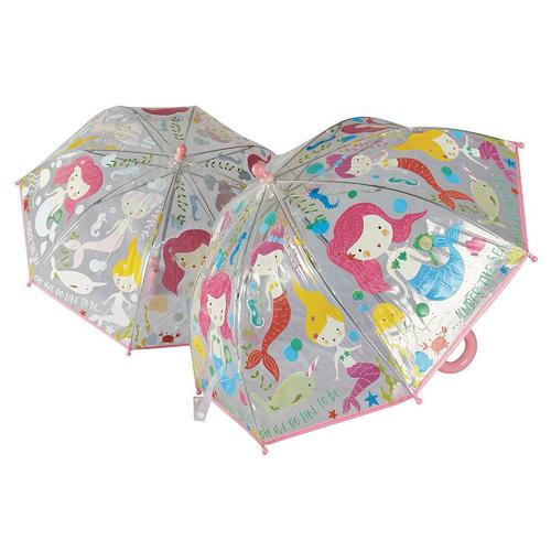 Paraguas Cambia Colores - Sirena