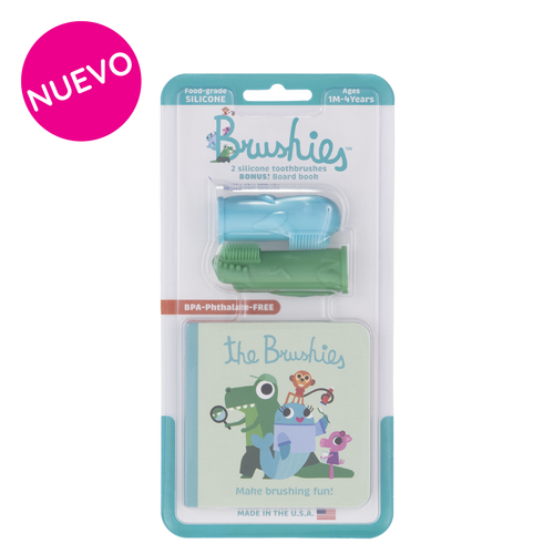 Cepillo de Dientes de Entrenamiento Duo Pack Chomps & Willa
