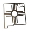 New Mexico Zia w/heart