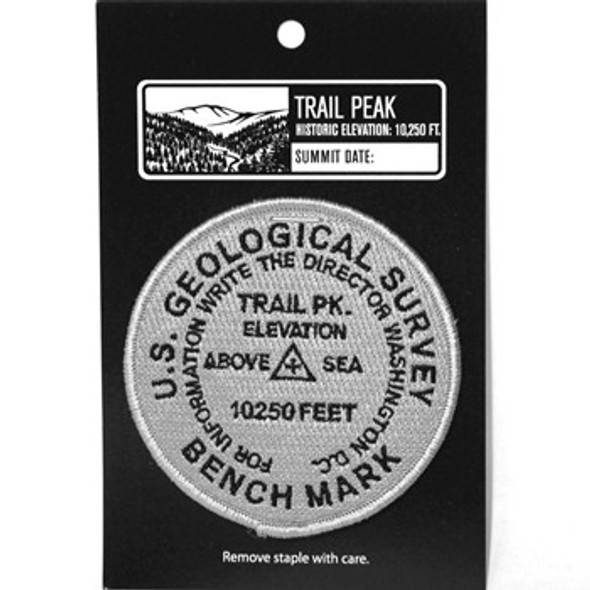 USGS Trail Peak Elevation Patch