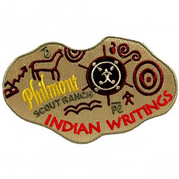 Indian Writings Camp Patch