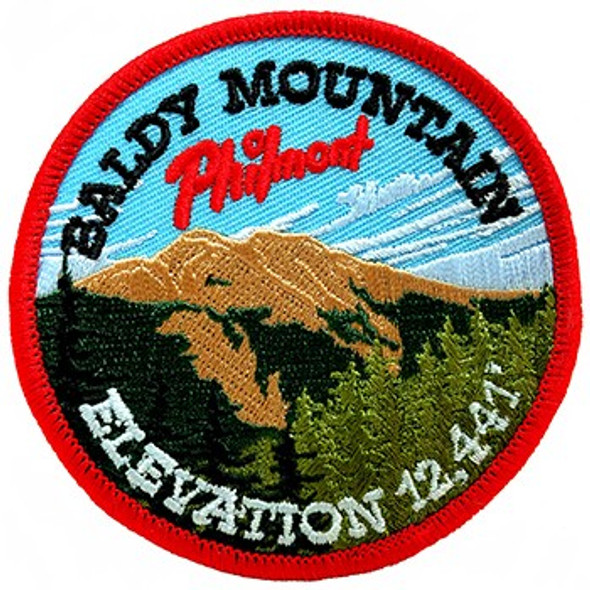 Baldy Mountain Elevation Patch