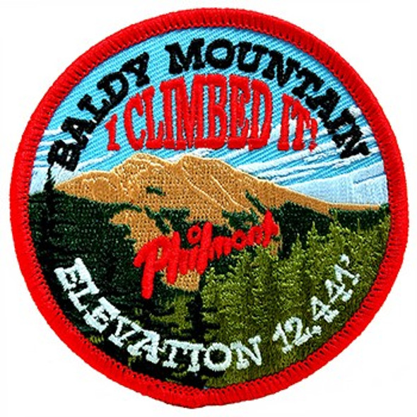 I Climbed It! Baldy Mountain Elevation Patch