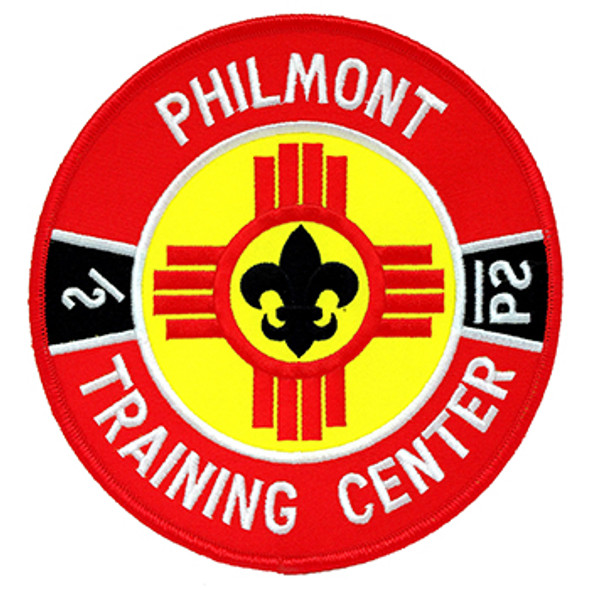 "Philmont Training Center 6"" Patch"