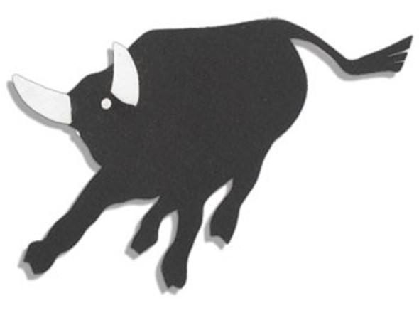 Philmont Black Felt Bull Patch