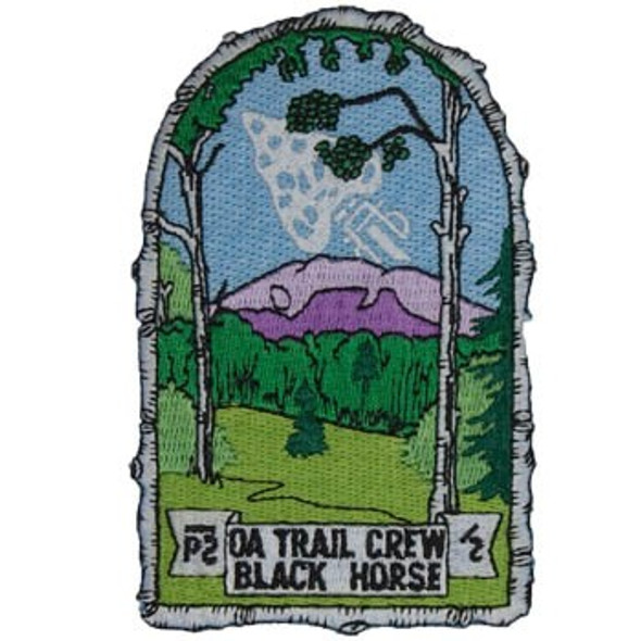 OA Trail Crew Black Horse Patch