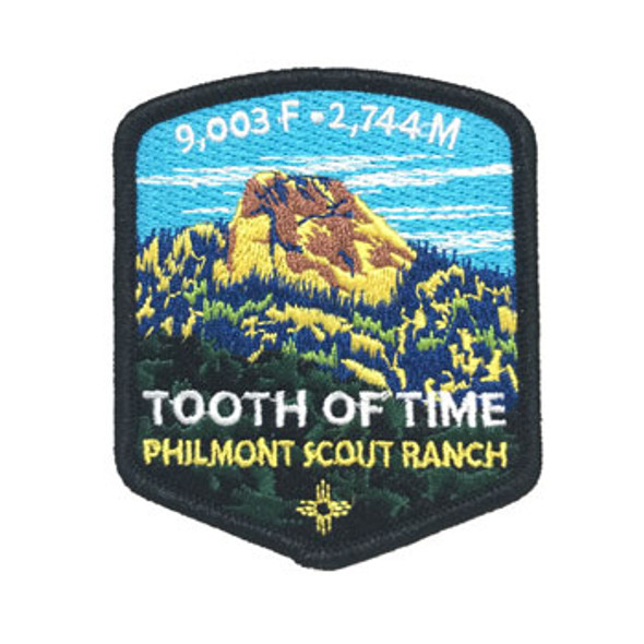 Tooth of Time Shield Patch