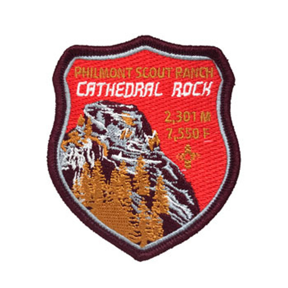 Cathedral Rock Shield Patch