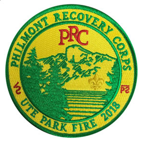 Philmont Recovery Corps Patch