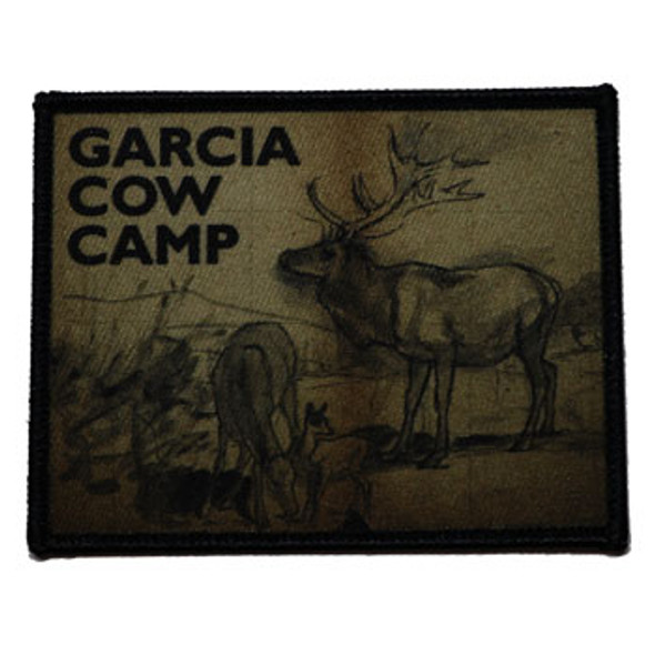 Garcia Cow Camp Patch