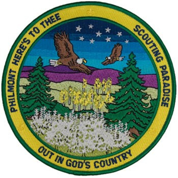 "Philmont Hymn 6"" Patch"