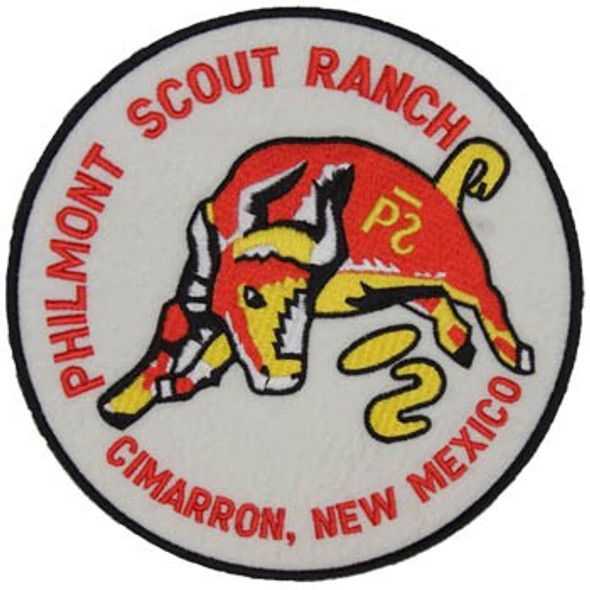 "Philmont Bull 6"" Patch"
