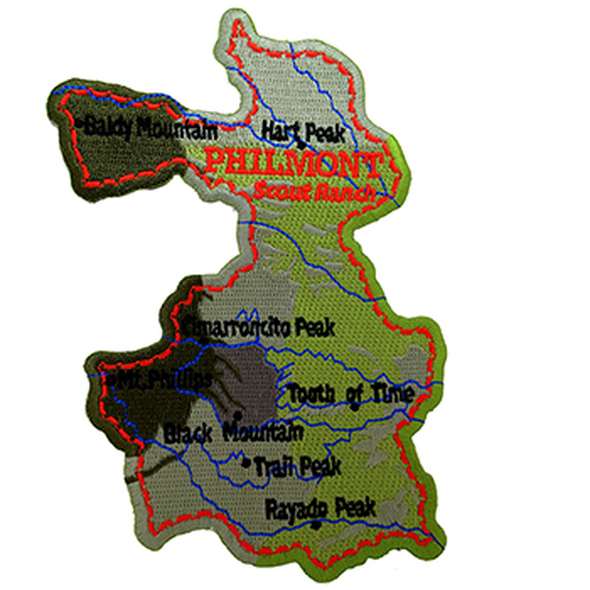Philmont Map Patch