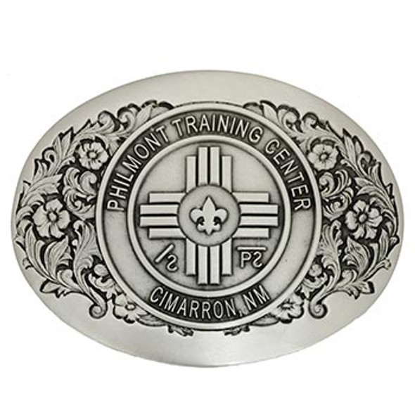 Philmont Training Center Buckle - Pewter
