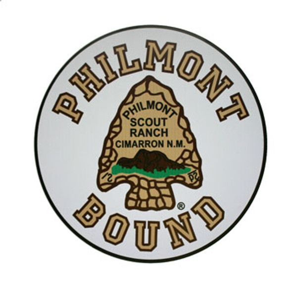 Philmont Bound Car Magnet