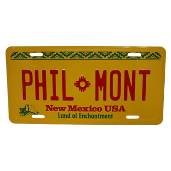 NM Philmont License Plate
