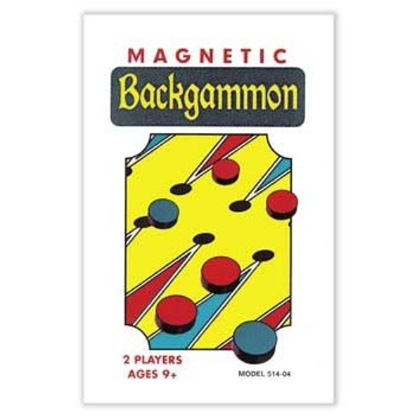 Magnetic Backgammon Game