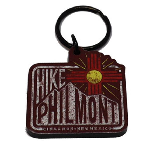 Hike Philmont Keychain
