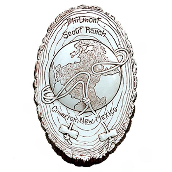 Ceramic Philmont Wood Badge Plaque