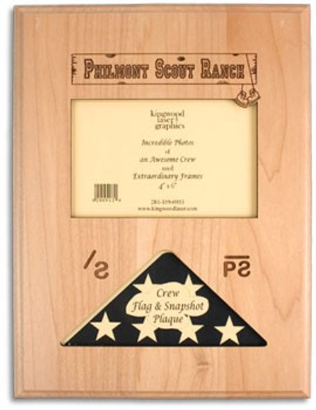 Crew Flag &  Picture Frame