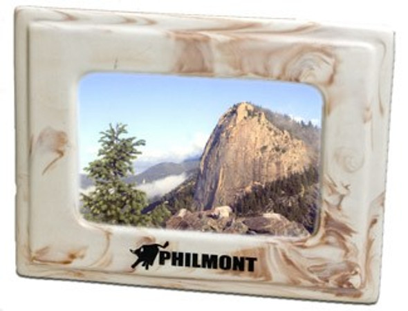 Marbalized Picture Frame