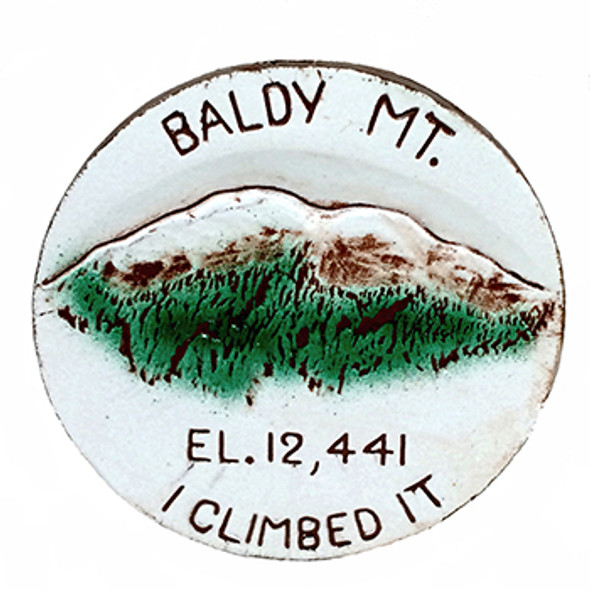 Ceramic Baldy Mt. Slide