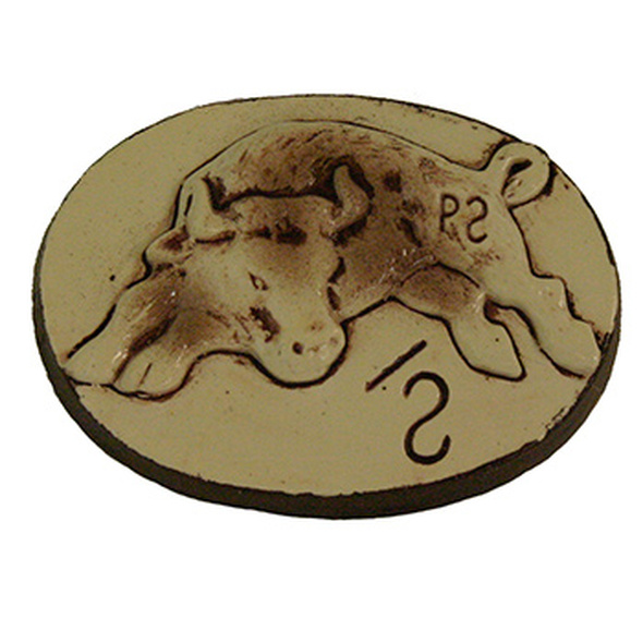 Ceramic Philmont Bull Slide