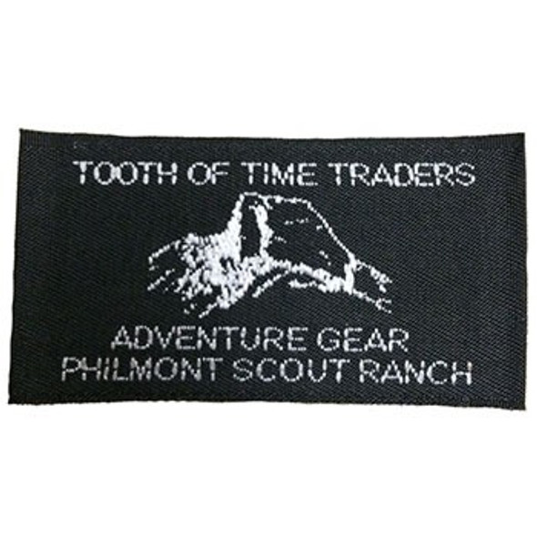 Tooth of Time Traders Clothing Tag