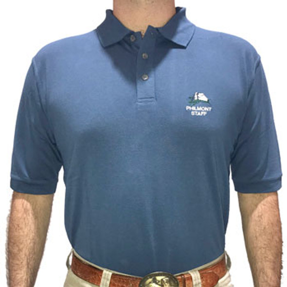 Indigo Staff Polo