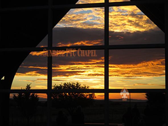 PTC Sunrise at the Chapel