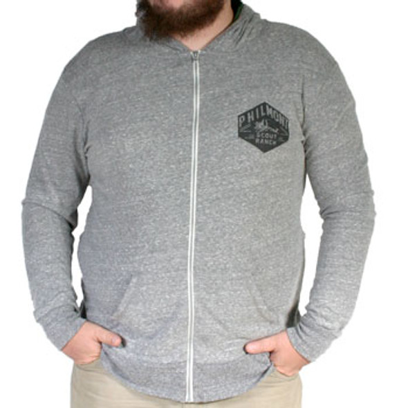 Hexagon Tooth of Time Hooded Sweater