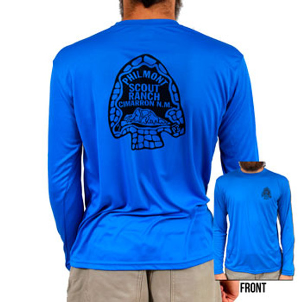 Philmont Arrowhead Long Sleeve Performance T-Shirt