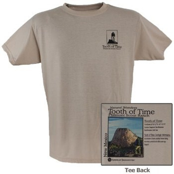 Natural Wonders Tooth of Time Performance Tee