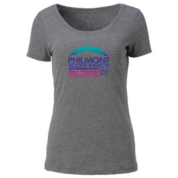 Tri-blend Philmont Mountain Flag T-Shirt