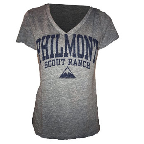 Jansport Women's V-Neck Philmont Mountain T-Shirt