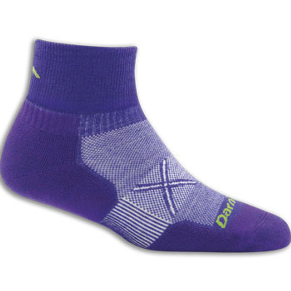 Darn Tough Women's Coolmax® Vertex 1/4 Sock Ultra-Light Cusion