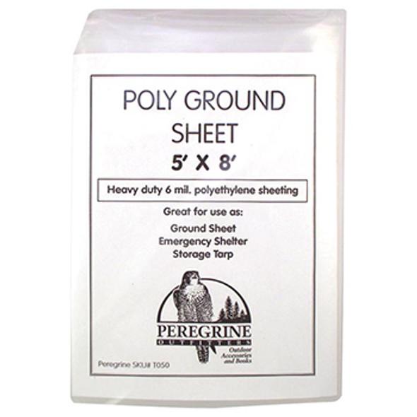 Poly Groundsheet 5'x8'