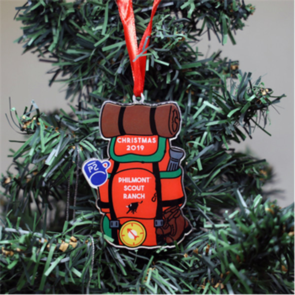 2019 Philmont Backpack Ornament