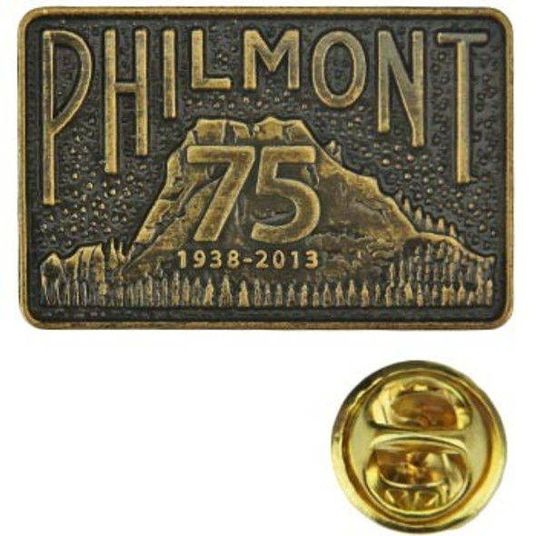 75th Anniversary Buckle Hat Pin