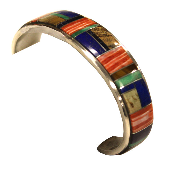 Multi Stone Inlay bracelet