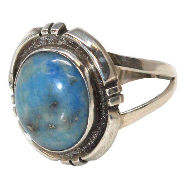 Denim Lapis Ring