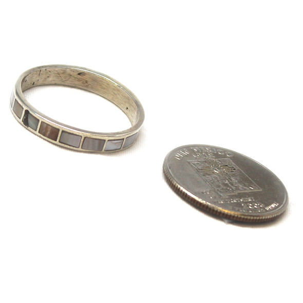 Mother of Pearl Inlay Band