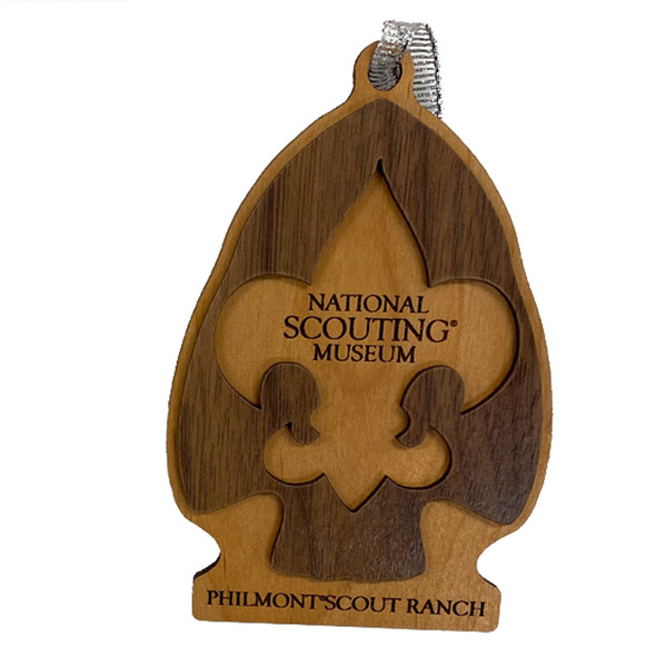 NSM Wooden Christmas Ornament
