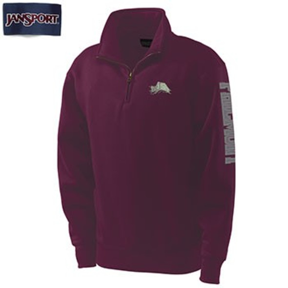 JanSport Philmont 1/4 Zip Tooth Sweatshirt
