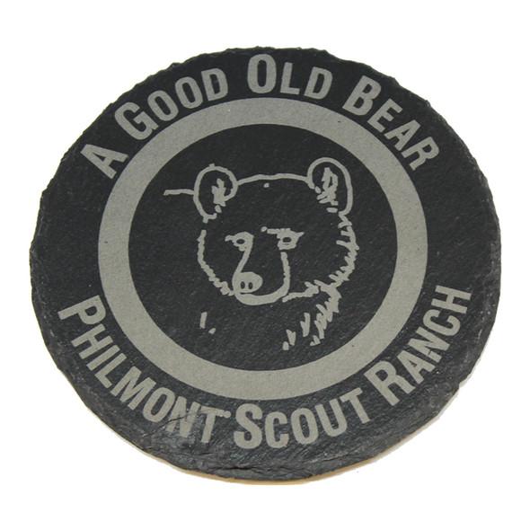 Slate Bear Coaster